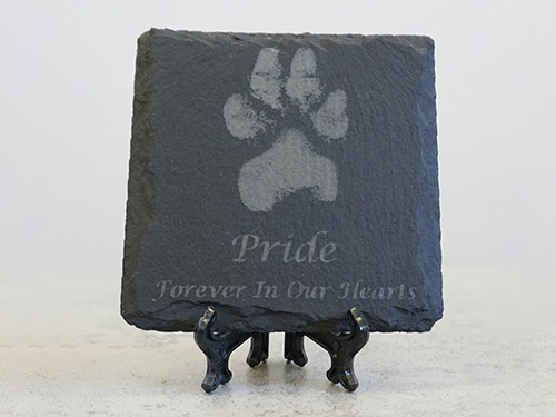 Laser Engraved Slate Coasters